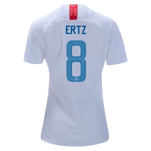 Home Julie Ertz 18/19 USA Women's Stadium Jersey 3 Star