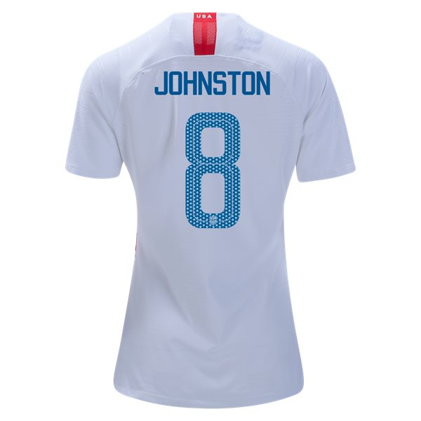 Home Julie Johnston 2018/2019 USA Women's Stadium Jersey 3-Star