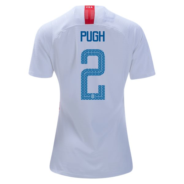 Home Mallory Pugh 18/19 USA Women's Stadium Jersey 3 Star
