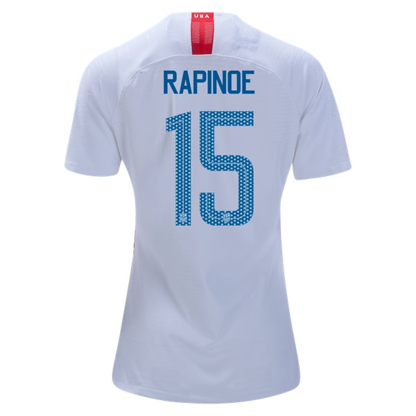 Home Megan Rapinoe 2018/2019 USA Women's Stadium Jersey 3-Star
