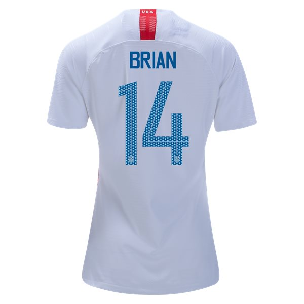 Home Morgan Brian 18/19 USA Women's Stadium Jersey 3 Star