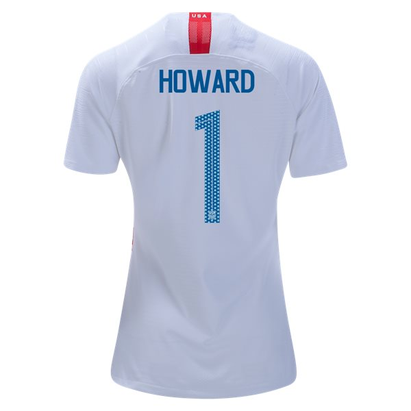 Home Tim Howard 2018 USA Women's Stadium Jersey 3-Star