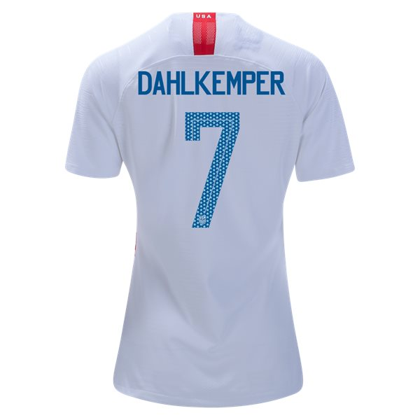 Home Abby Dahlkemper 2018/2019 USA Women's Stadium Jersey 3-Star