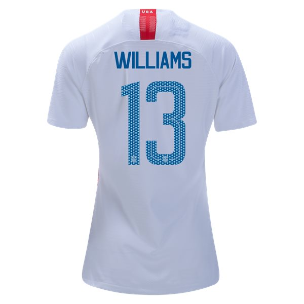Home Lynn Williams 2018 USA Women's Stadium Jersey 3-Star