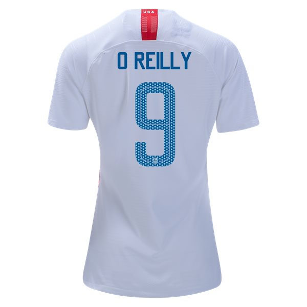 Home Heather O'Reilly 2018/19 USA Women's Stadium Jersey 3 Star