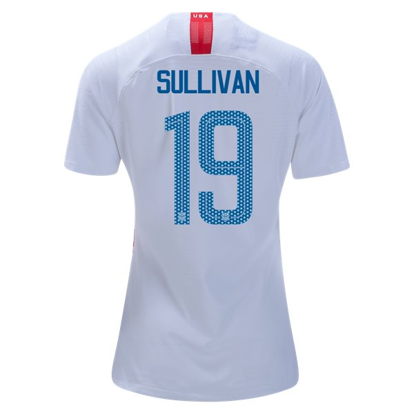 Home Andi Sullivan 2018/2019 USA Women's Stadium Jersey 3-Star