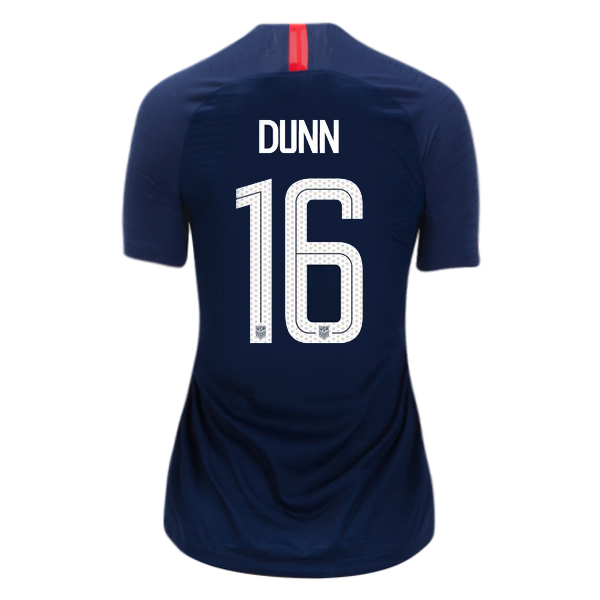 Away Crystal Dunn 18/19 USA Women's Stadium Jersey 3 Star
