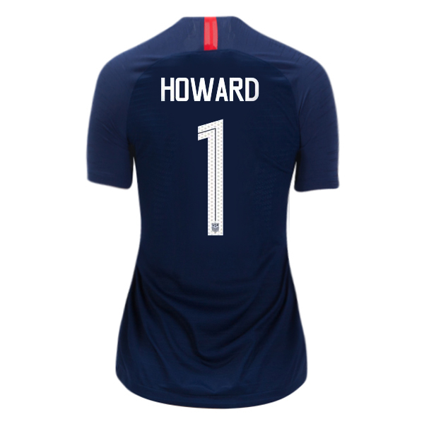 Away Tim Howard 2018/19 USA Women's Stadium Jersey 3 Star
