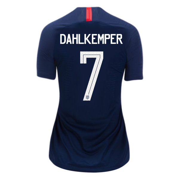 Away Abby Dahlkemper 18/19 USA Women's Stadium Jersey 3 Star