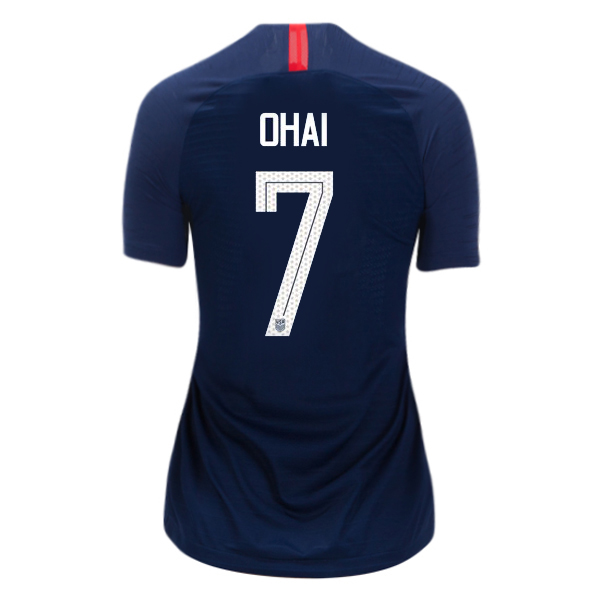 Away Kealia Ohai 2018 USA Women's Stadium Jersey 3-Star