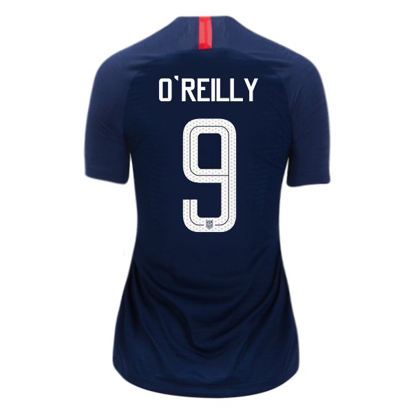 Away Heather O'Reilly 2018/2019 USA Women's Stadium Jersey 3-Star