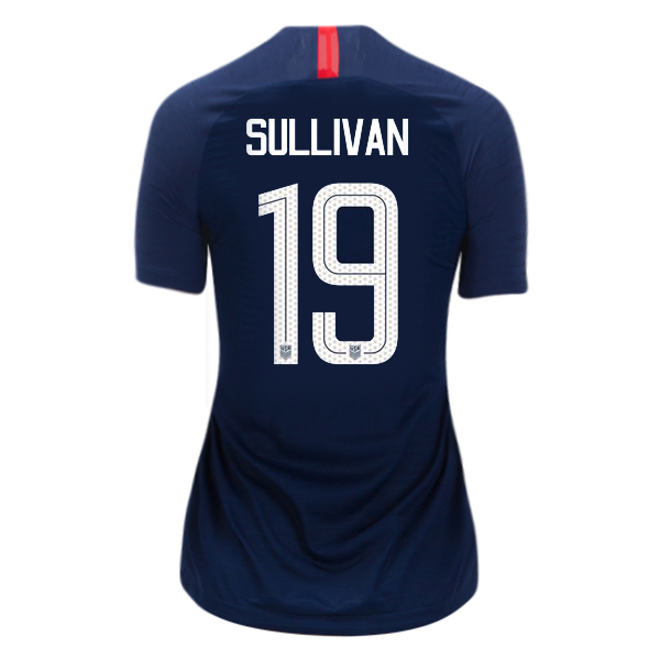 Away Andi Sullivan 18/19 USA Women's Stadium Jersey 3 Star