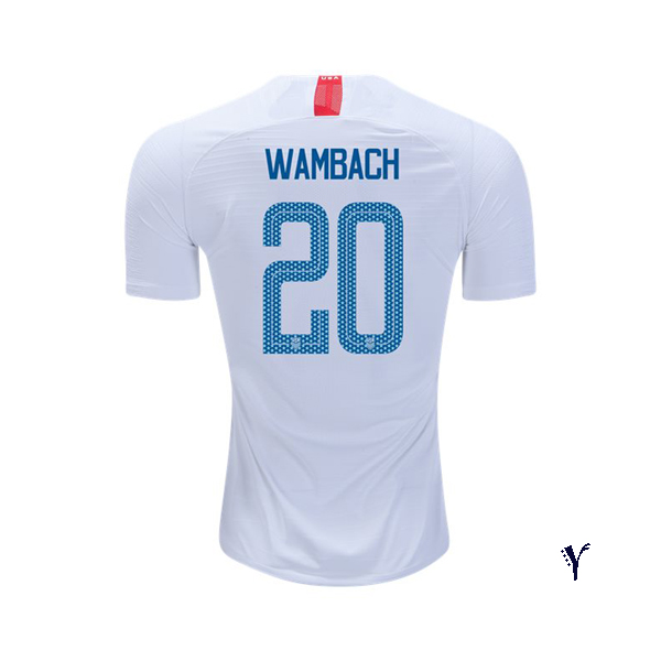 Home Abby Wambach 2018 USA Youth Stadium Soccer Jersey