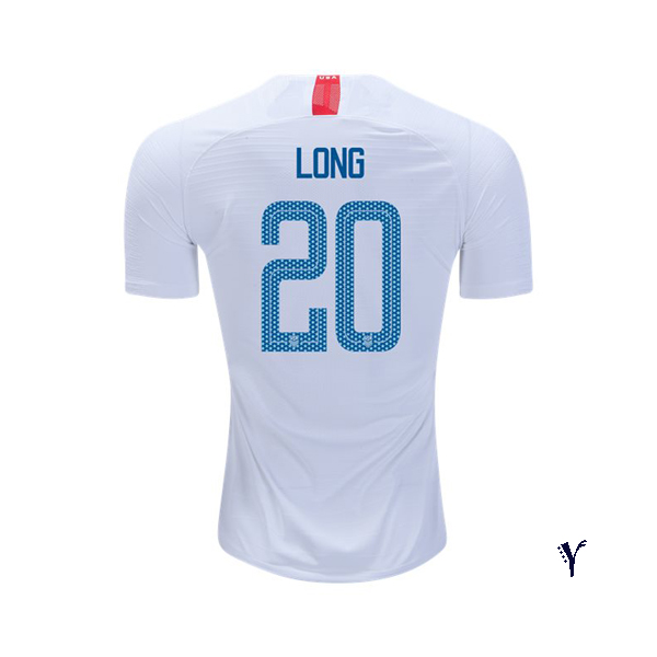 Home Allie Long 2018/19 USA Youth Stadium Soccer Jersey