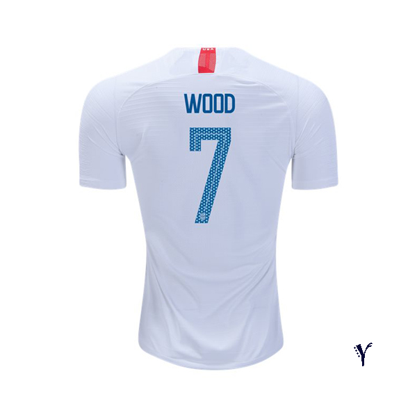 Home Bobby Wood 2018/2019 USA Youth Stadium Soccer Jersey