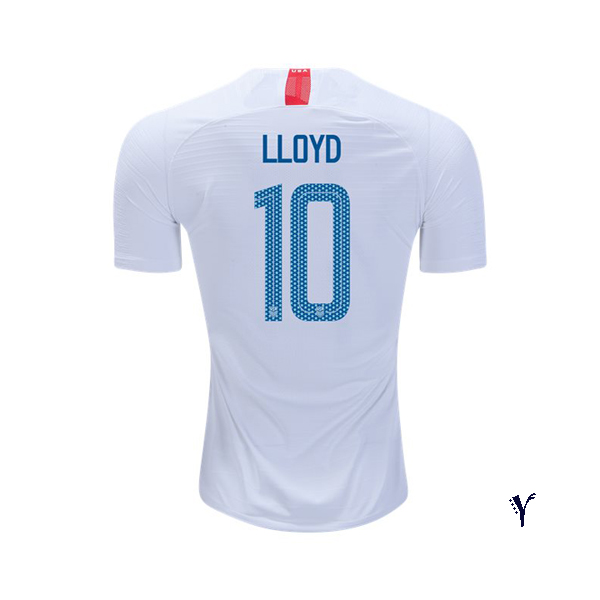 Home Carli Lloyd 2018/19 USA Youth Stadium Soccer Jersey