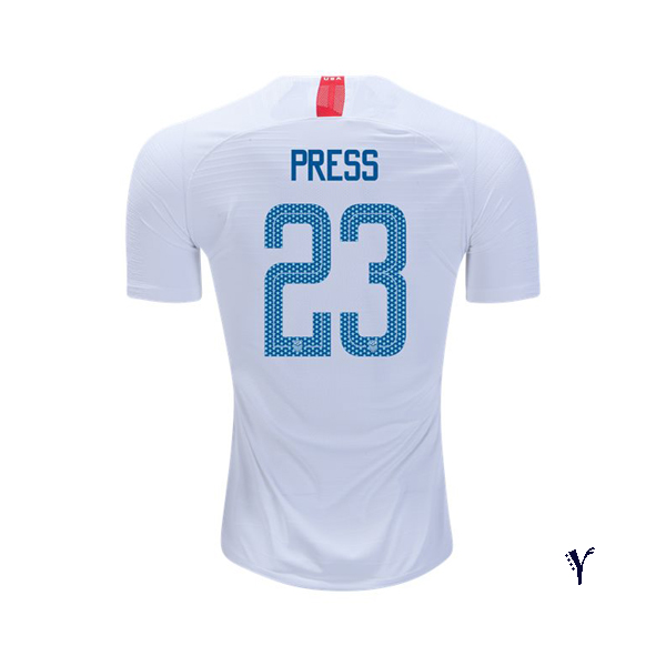 Home Christen Press 2018 USA Youth Stadium Soccer Jersey