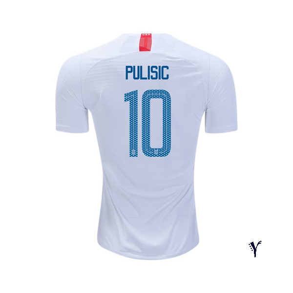 Home Christian Pulisic 18/19 USA Youth Stadium Soccer Jersey