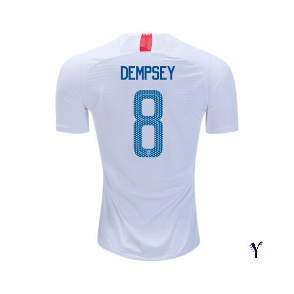 Home Clint Dempsey 2018/19 USA Youth Stadium Soccer Jersey