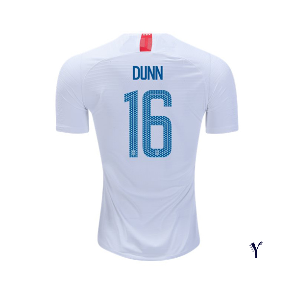 Home Crystal Dunn 2018 USA Youth Stadium Soccer Jersey
