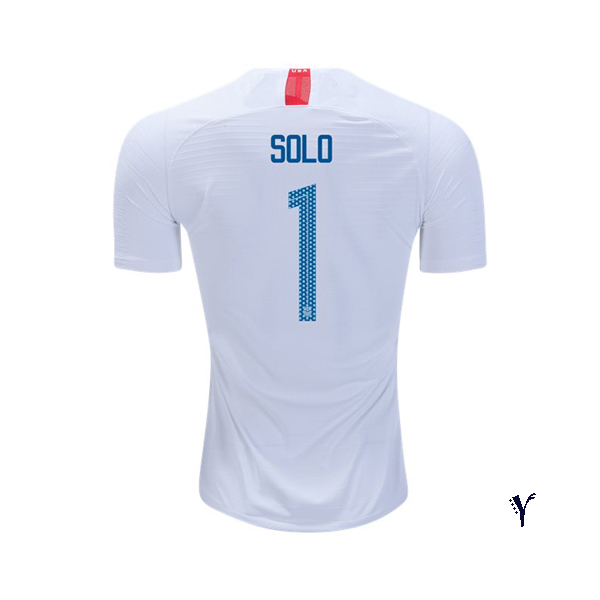 Home Hope Solo 18/19 USA Youth Stadium Soccer Jersey