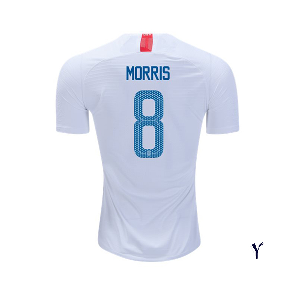 Home Jordan Morris 2018/2019 USA Youth Stadium Soccer Jersey