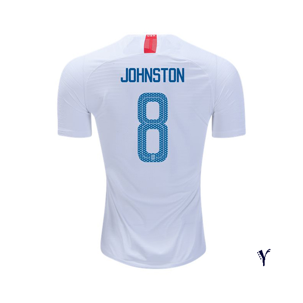 Home Julie Johnston 2018 USA Youth Stadium Soccer Jersey