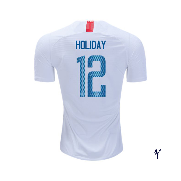 Home Lauren Holiday 2018/2019 USA Youth Stadium Soccer Jersey