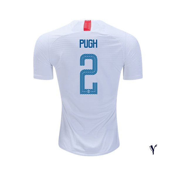 Home Mallory Pugh 2018/19 USA Youth Stadium Soccer Jersey