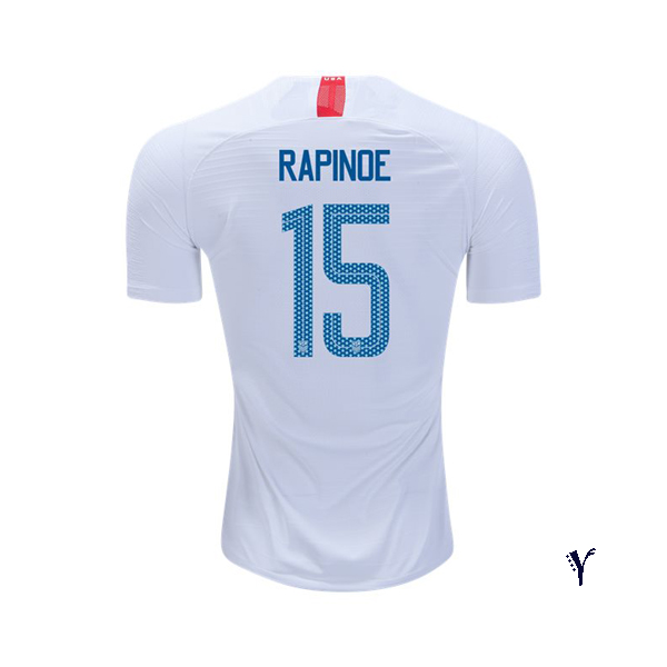 Home Megan Rapinoe 2018 USA Youth Stadium Soccer Jersey