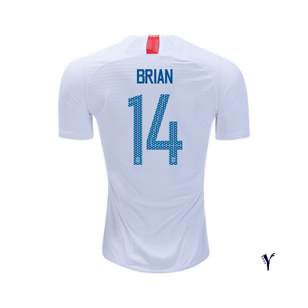 Home Morgan Brian 2018/19 USA Youth Stadium Soccer Jersey
