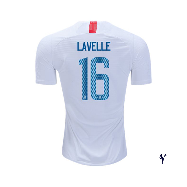 Home Rose Lavelle 2018 USA Youth Stadium Soccer Jersey