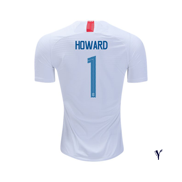 Home Tim Howard 2018/2019 USA Youth Stadium Soccer Jersey