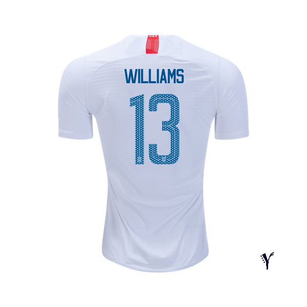 Home Lynn Williams 2018/2019 USA Youth Stadium Soccer Jersey