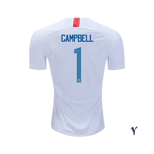 Home Jane Campbell 2018 USA Youth Stadium Soccer Jersey