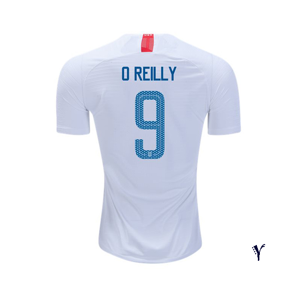 Home Heather O'Reilly 18/19 USA Youth Stadium Soccer Jersey