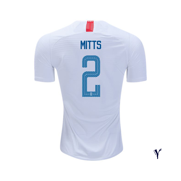 Home Heather Mitts 2018/2019 USA Youth Stadium Soccer Jersey