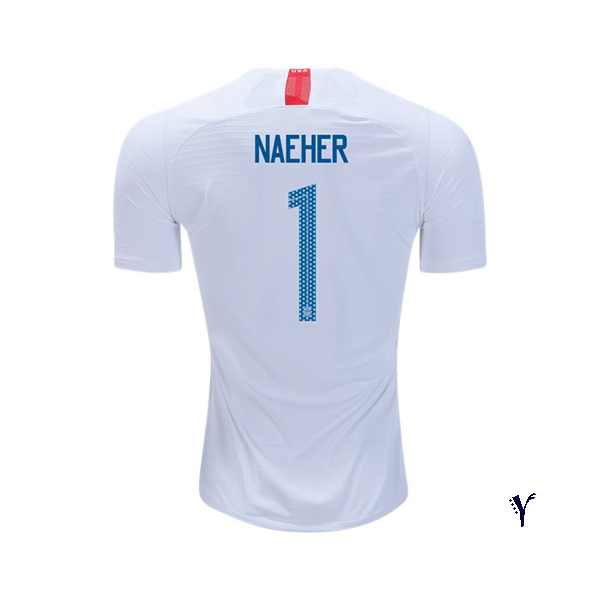 Home Alyssa Naeher 18/19 USA Youth Stadium Soccer Jersey