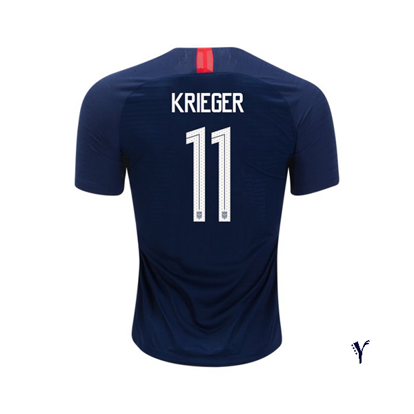 Away Ali Krieger 18/19 USA Youth Stadium Soccer Jersey