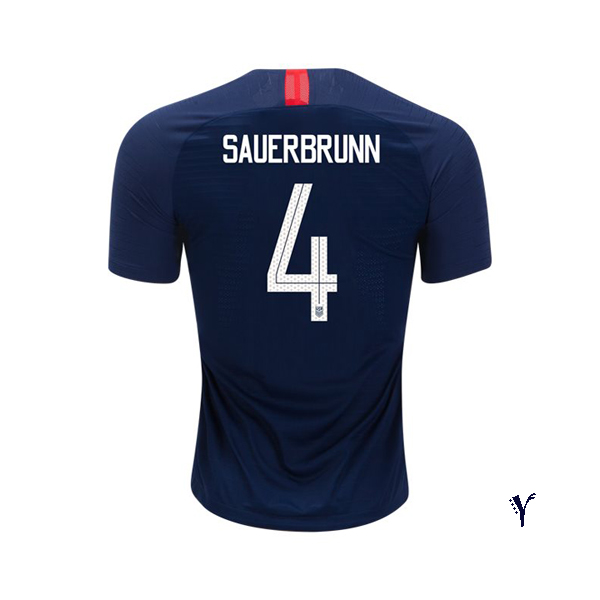 Away Becky Sauerbrunn 2018 USA Youth Stadium Soccer Jersey