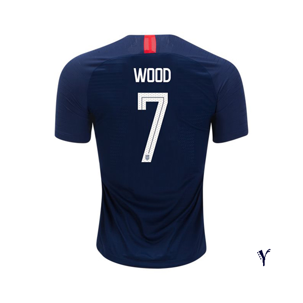 Away Bobby Wood 18/19 USA Youth Stadium Soccer Jersey