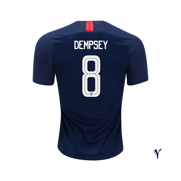 Away Clint Dempsey 2018/2019 USA Youth Stadium Soccer Jersey