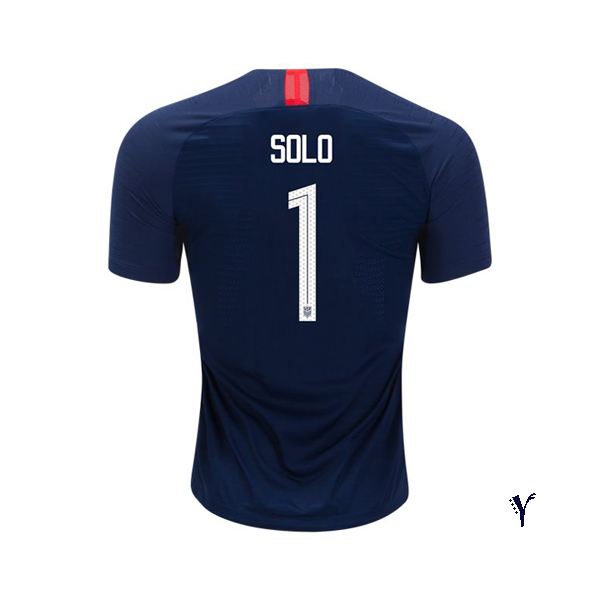 Away Hope Solo 2018 USA Youth Stadium Soccer Jersey