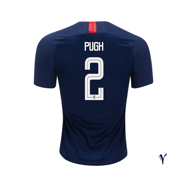 Away Mallory Pugh 2018/2019 USA Youth Stadium Soccer Jersey