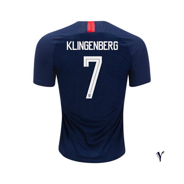 Away Meghan Klingenberg 2018 USA Youth Stadium Soccer Jersey