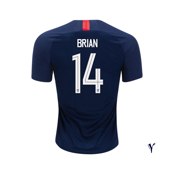 Away Morgan Brian 2018/2019 USA Youth Stadium Soccer Jersey