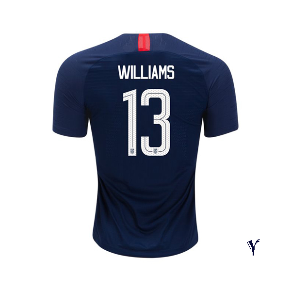 Away Lynn Williams 18/19 USA Youth Stadium Soccer Jersey