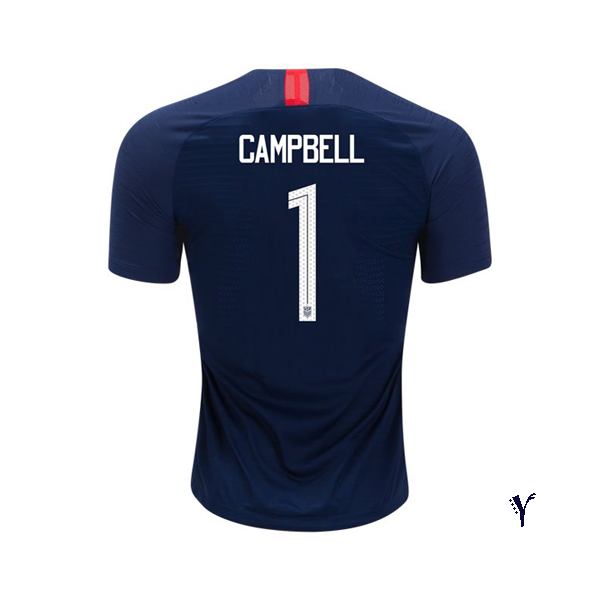 Away Jane Campbell 2018/19 USA Youth Stadium Soccer Jersey