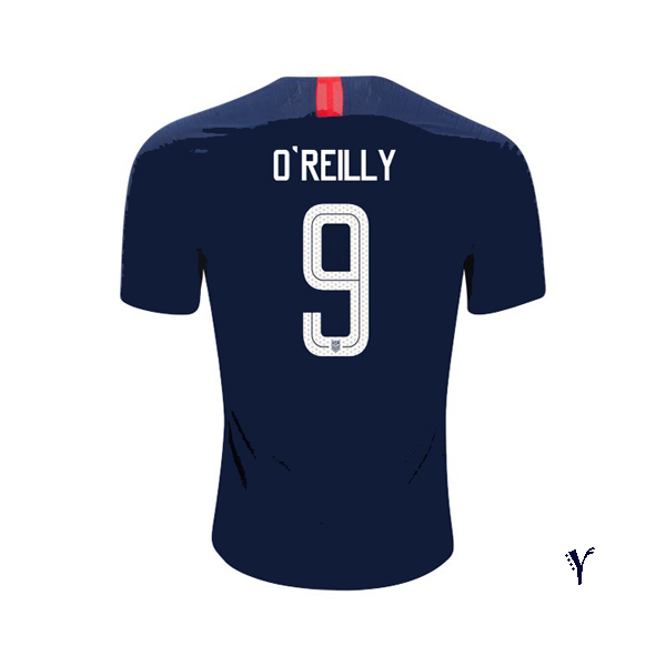 Away Heather O'Reilly 2018 USA Youth Stadium Soccer Jersey