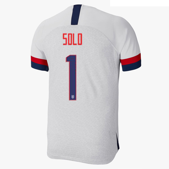 USA Home Hope Solo 2019/20 Men's Stadium Soccer Jersey